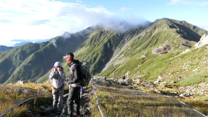 """Hayakawa town, """"Trekking on South Alps"""""""