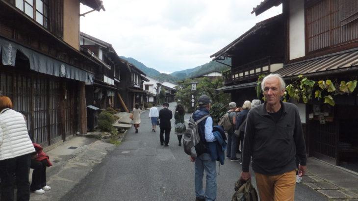 """Nagiso town, Walk along ancient path """"Nakasendo"""""""
