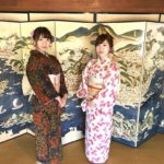 """Esashi town, """"Walk in the nostalgic seaside town wearing Kimono"""""""